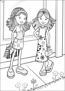 coloring page Groovy Girls (25)