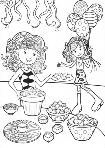 coloring page Groovy Girls (26)