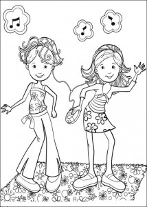 coloring page Groovy Girls (36)