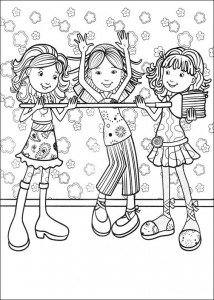 coloring page Groovy Girls (39)