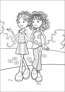 coloring page Groovy Girls (4)
