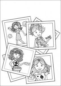 kleurplaat Groovy Girls (43)