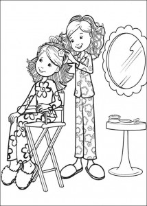 coloring page Groovy Girls (46)