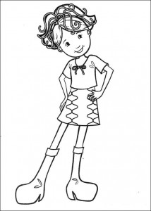 coloring page Groovy Girls (5)