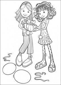 målarbok Groovy Girls (50)