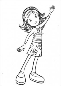 coloring page Groovy Girls (6)