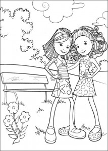 coloring page Groovy Girls (7)