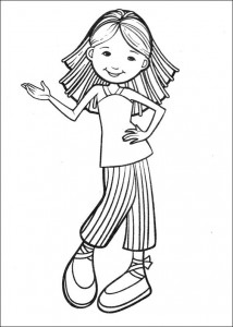 coloring page Groovy Girls (8)