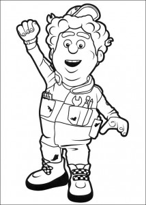 coloring page Great Chris