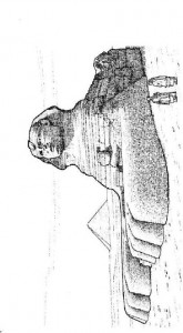 målarbok Stor sfinx