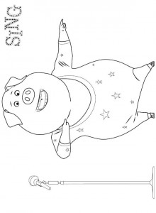 coloring page Gunther 2