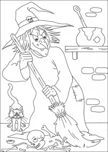 coloring page Halloween (107)