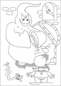 kleurplaat Halloween (126)