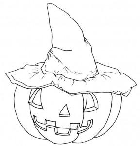 kleurplaat Halloween (14)