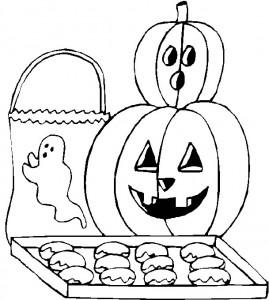 kleurplaat Halloween (15)