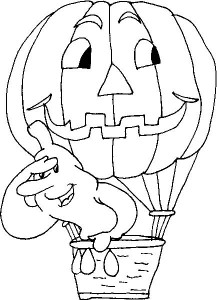 kleurplaat Halloween (16)