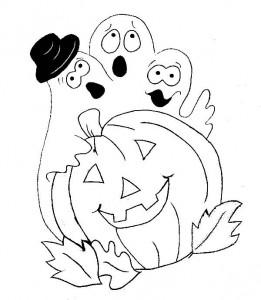 kleurplaat Halloween (18)