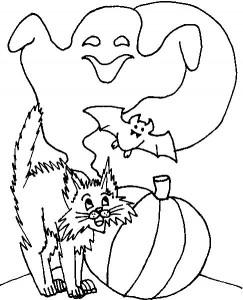 kleurplaat Halloween (20)