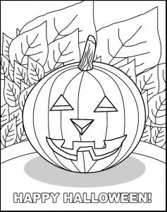 kleurplaat Halloween (23)