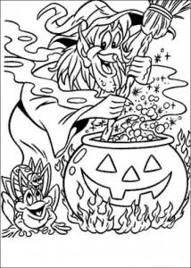 kleurplaat Halloween (26)
