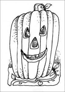 kleurplaat Halloween (27)