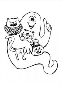 kleurplaat Halloween (29)