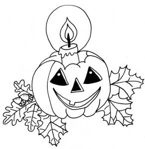kleurplaat Halloween (34)