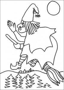 målarbok Halloween (35)