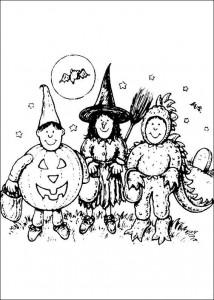 kleurplaat Halloween (38)