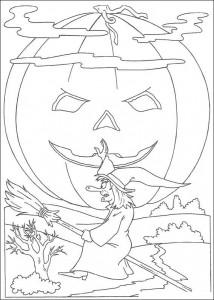 kleurplaat Halloween (39)