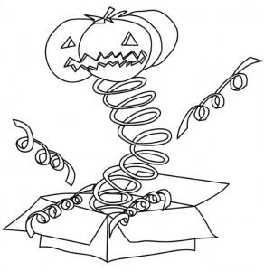 kleurplaat Halloween (49)