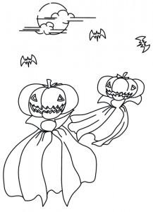 kleurplaat Halloween (50)