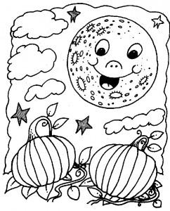 kleurplaat Halloween (53)