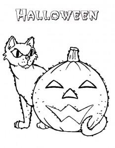 kleurplaat Halloween (55)
