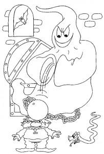 kleurplaat Halloween (61)