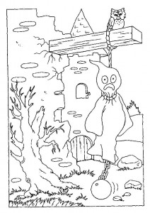 coloring page Halloween (63)