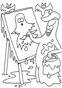 kleurplaat Halloween (72)