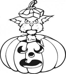 kleurplaat Halloween (92)