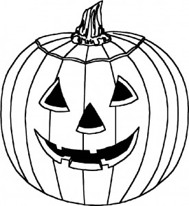 kleurplaat Halloween (93)