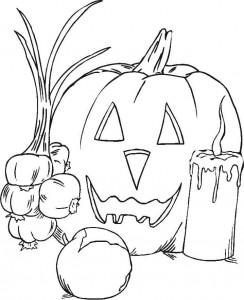 kleurplaat Halloween (94)