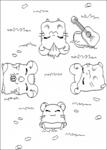 coloring page Ham-skinker (17)