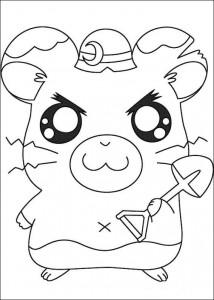 kleurplaat Ham-hams (6)
