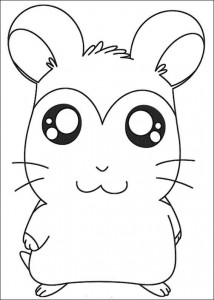 coloring page Ham-skinker