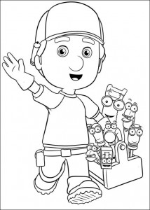 coloring page Handy Manny (1)