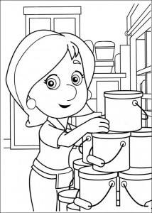 coloring page Handy Manny (11)
