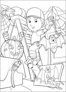 coloring page Handy Manny (15)