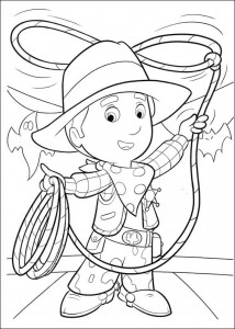 coloring page Handy Manny (16)