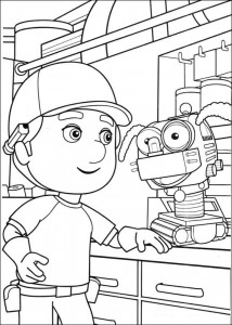 coloring page Handy Manny (17)