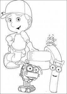 coloring page Handy Manny (2)