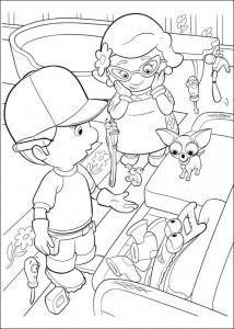 coloring page Handy Manny (22)